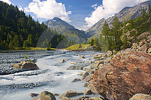 Mountain Torrent Stock Photo - Image: 16519350