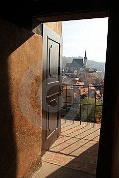 UNESCO - Town Cesky Krumlov Stock Images - Image: 16519784
