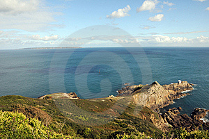 View From Jerbourg Point On Guernsey Stock Photography - Image: 16523812