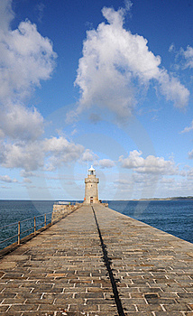 Harbour Wall At St Peter Port, Guernsey Royalty Free Stock Photography - Image: 16523847