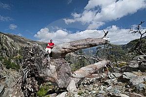 Hiking At Corsica Stock Photo - Image: 16524950