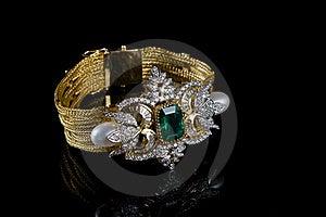 Diamond Bracelet Royalty Free Stock Photography - Image: 16526037