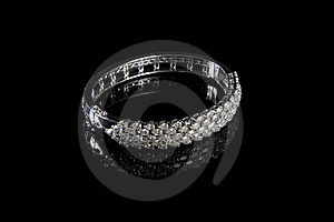 Diamond Bracelet Royalty Free Stock Image - Image: 16526066