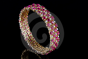 Diamond Bracelet Royalty Free Stock Photography - Image: 16526117