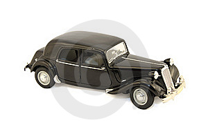 Model Of The Black Car Stock Photos - Image: 16530763