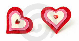 Foam Hearts Royalty Free Stock Image - Image: 16533466