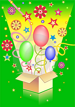 Surprise In The Box Stock Images - Image: 16533904