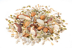 Nut And Seed Selection Stock Image - Image: 16539001