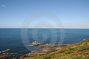 Coast Of Guernsey At Torteval Royalty Free Stock Photos - Image: 16539378