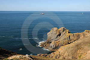 Coast Of Guernsey At Torteval Stock Image - Image: 16539441