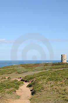 Pleinmont Tower On Guernsey Coast Royalty Free Stock Photos - Image: 16539468