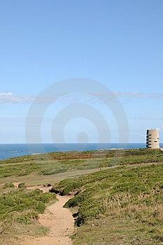 Pleinmont Tower On Guernsey Coast Royalty Free Stock Photos - Image: 16539468