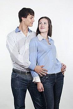 Beautiful Young Happy Couple Stock Photo - Image: 16548430