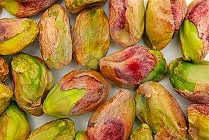 Background Of Peeled Pistachio Nuts Stock Images - Image: 16548654
