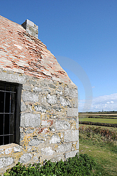Mont Herault Watch House, Guernsey Royalty Free Stock Image - Image: 16554146