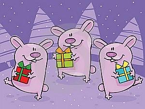 Boże Narodzenie Taniec Zdjęcia Royalty Free - Obraz: 16555808