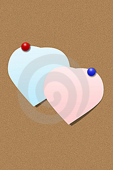 Heart Shape Paper Stock Photo - Image: 16557940