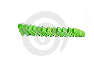 Domino Effect Royalty Free Stock Images - Image: 16557999