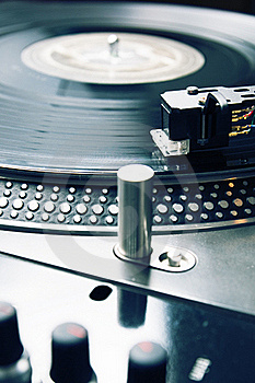Needle On The Vinyl Record Stock Photography - Image: 16558562