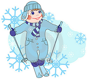 Skiing Royalty Free Stock Images - Image: 16561499
