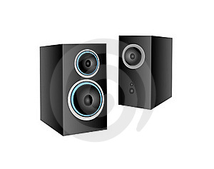 Computer Speakers Royalty Free Stock Photography - Image: 16562387