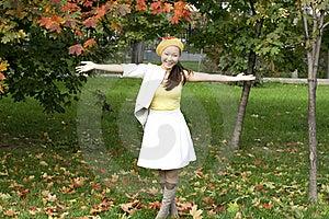 Joyful Girl Royalty Free Stock Images - Image: 16563419