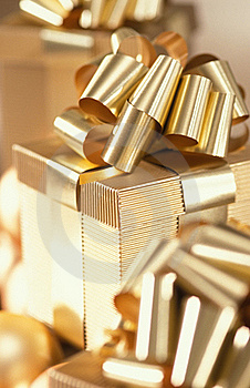 Present Box Royalty Free Stock Images - Image: 16563649