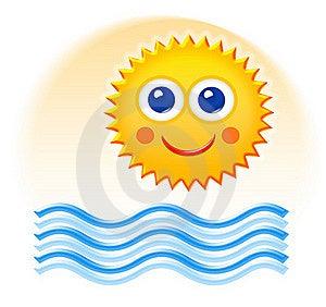 Summertime Cartoon Sketch Royalty Free Stock Photo - Image: 16566545