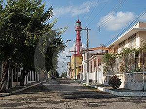 Street Lighthouse Stock Photography - Image: 16568362