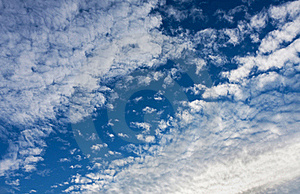 White Cumulus Clouds Royalty Free Stock Photos - Image: 16574398