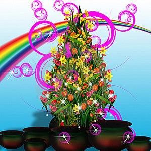 Rainbow, Rainbow Stock Photo - Image: 16577710