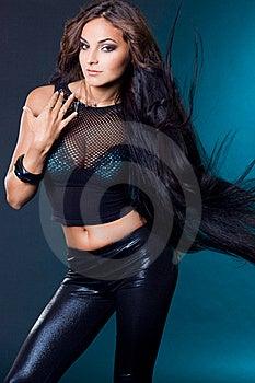 Beautiful Fashionable Woman Royalty Free Stock Images - Image: 16580679
