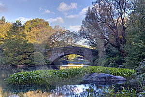 Central Park In Early Autumn Stock Image - Image: 16581611