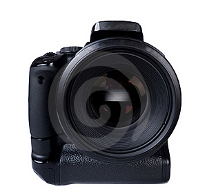 Digital Photocamera With Lens Stock Photos - Image: 16583733