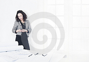 Young Architect Into A Break Time Royalty Free Stock Images - Image: 16584299