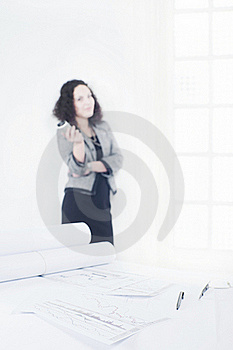 Young Architect Into A Break Time Royalty Free Stock Photos - Image: 16584328
