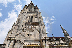 Dom-the Regensburg Cathedral,Germany(UNESCO Site) Stock Image - Image: 16592231