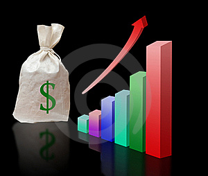 Metaphor Of Economical Growth Stock Images - Image: 16592234