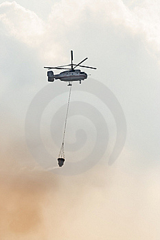 Fire Fighter Helicopter Stock Images - Image: 16595624