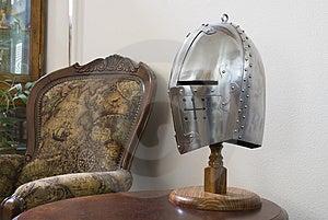 Medieval Helmet Stock Image - Image: 1663491