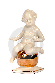 Sculpture From Porcelain Royalty Free Stock Photos - Image: 1667898
