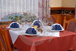 Restaurant Cover Royalty Free Stock Photo - Image: 1669095