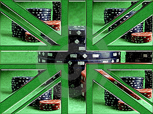 Gambling GB Stock Photography - Image: 1669922