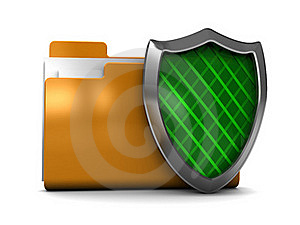 Protected Folder Royalty Free Stock Photography - Image: 16600757