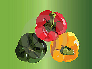 Three Peppers Stock Images - Image: 16610644