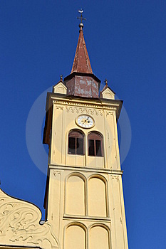 Yellow Church Royalty Free Stock Photography - Image: 16612847