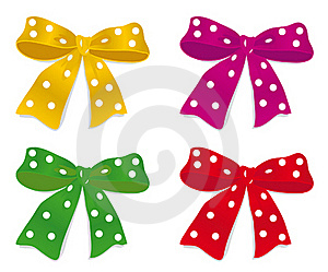 A Set Of Bows Royalty Free Stock Photo - Image: 16615995
