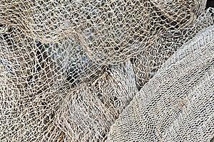 Fishing Nets' Maintenance Stock Photography - Image: 16617752