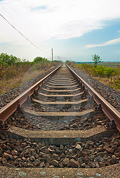 Railway Out Of Use Stock Images - Image: 16618654