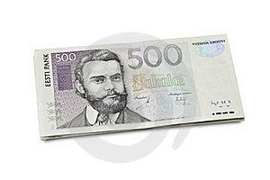 Estonian Money Royalty Free Stock Image - Image: 16619156
